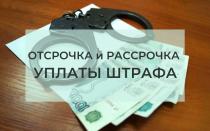 Как составить ходатайство о рассрочке и отсрочке уплаты штрафа — образец заявления